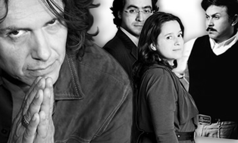 Saúl Hernández de Los Caifanes; Roberto Hernández y Layda Negrete, creadores de 'Presunto culpable', y el cineasta Gerardo Naranjo forman parte de los 13 personajes galardonados con el reconocimiento 'Orgullo Chilango 2011'. (Foto: Especial)