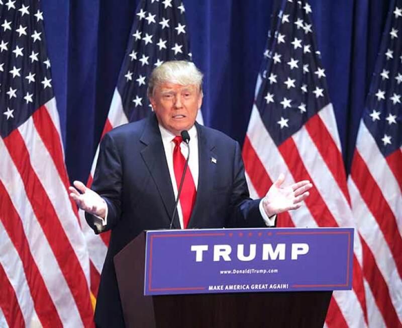 En su lucha por la candidatura a la presidencia de Estados Unidos por el Partido Republicano, el multimillonario ha hecho declaraciones que lo han puesto en el centro del huracán.