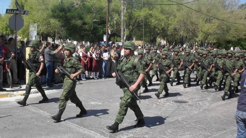 Militares Ciudad Mier