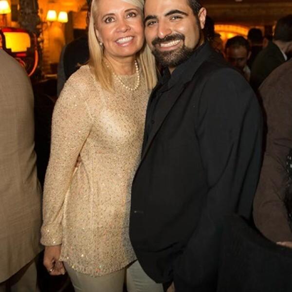 Carla Estrada y el productor de teatro,Sergio Gabriel