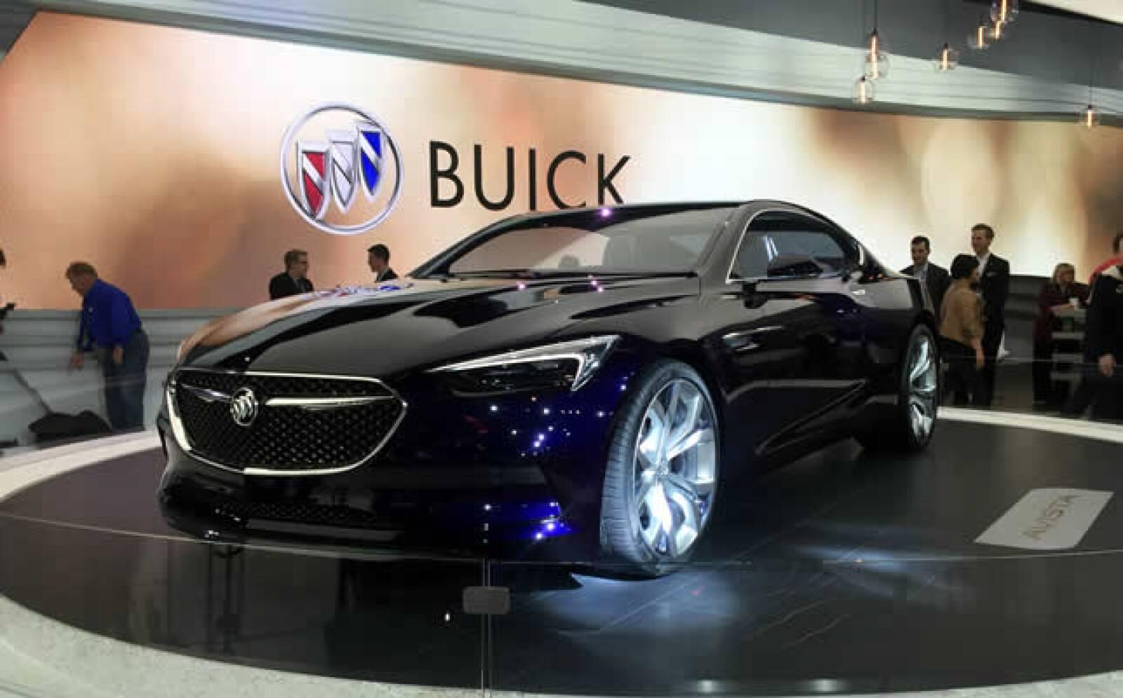 La nueva Avista de Buick tiene 400 caballos de fuerza.