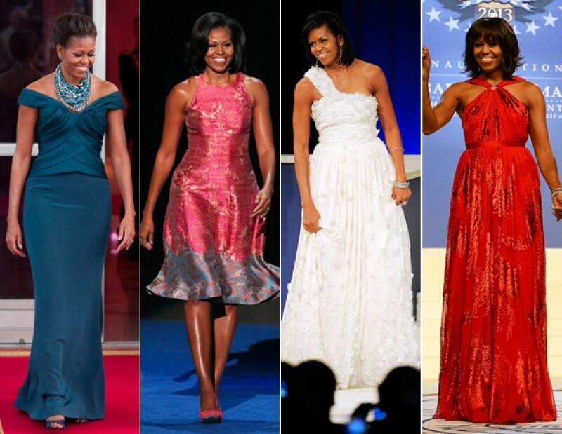 A pesar de tener un gran estilo, el mejor accesorio de Michelle Obama es su sonrisa.