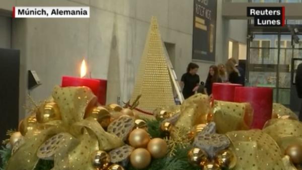 ¿Es éste el árbol de Navidad más caro de Europa?
