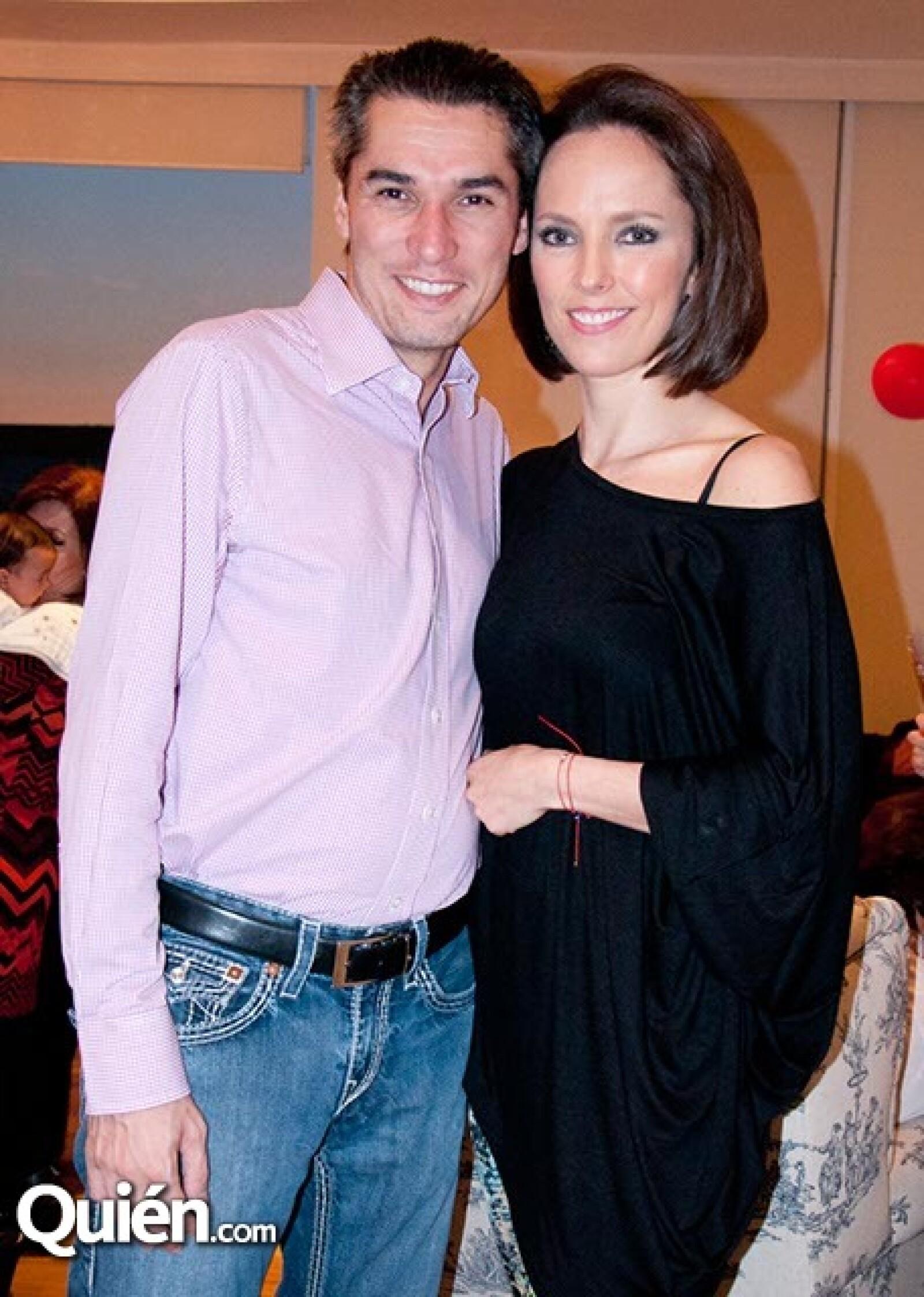 Pedro Vázquez y Natalia Fernández