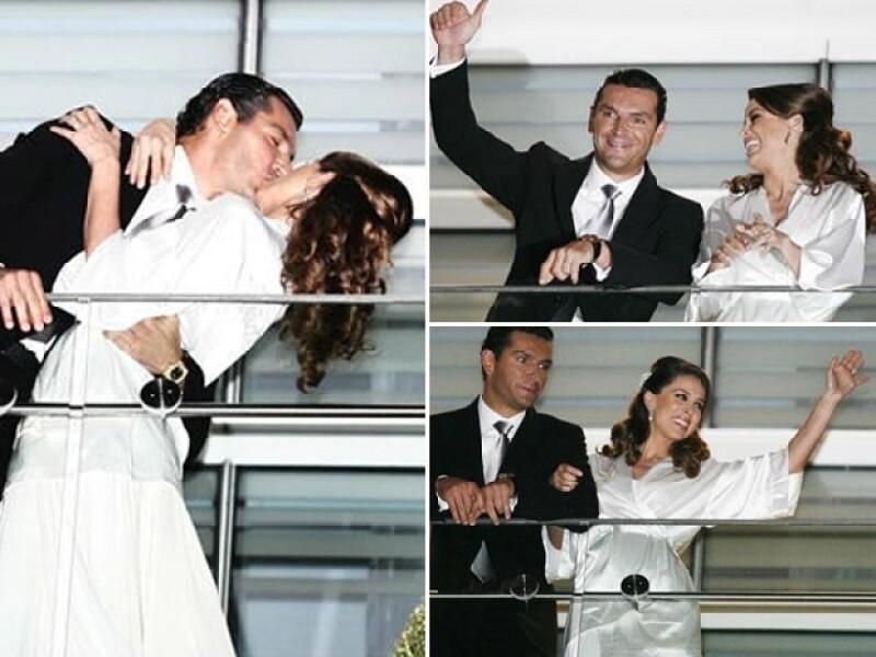 El pasado fin de semana, Jacky y Martin se casaron por el civil. En octubre se casarán por la iglesia.