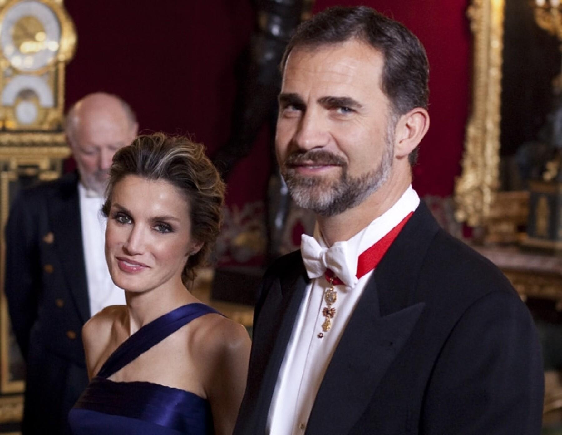 Doña Letizia y Don Felipe de España.