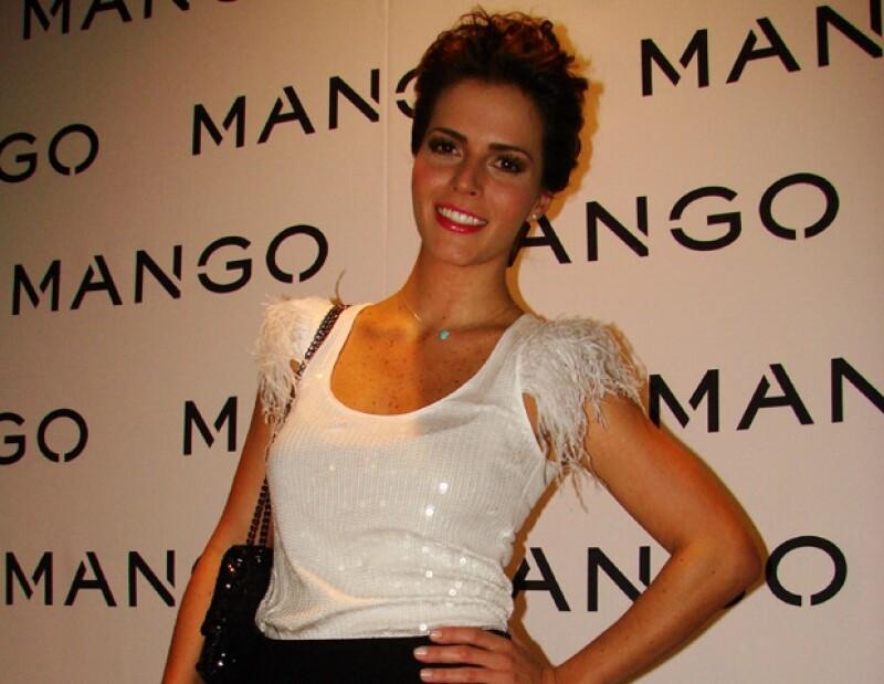 Claudia Álvarez fue una de las invitadas especiales al evento.