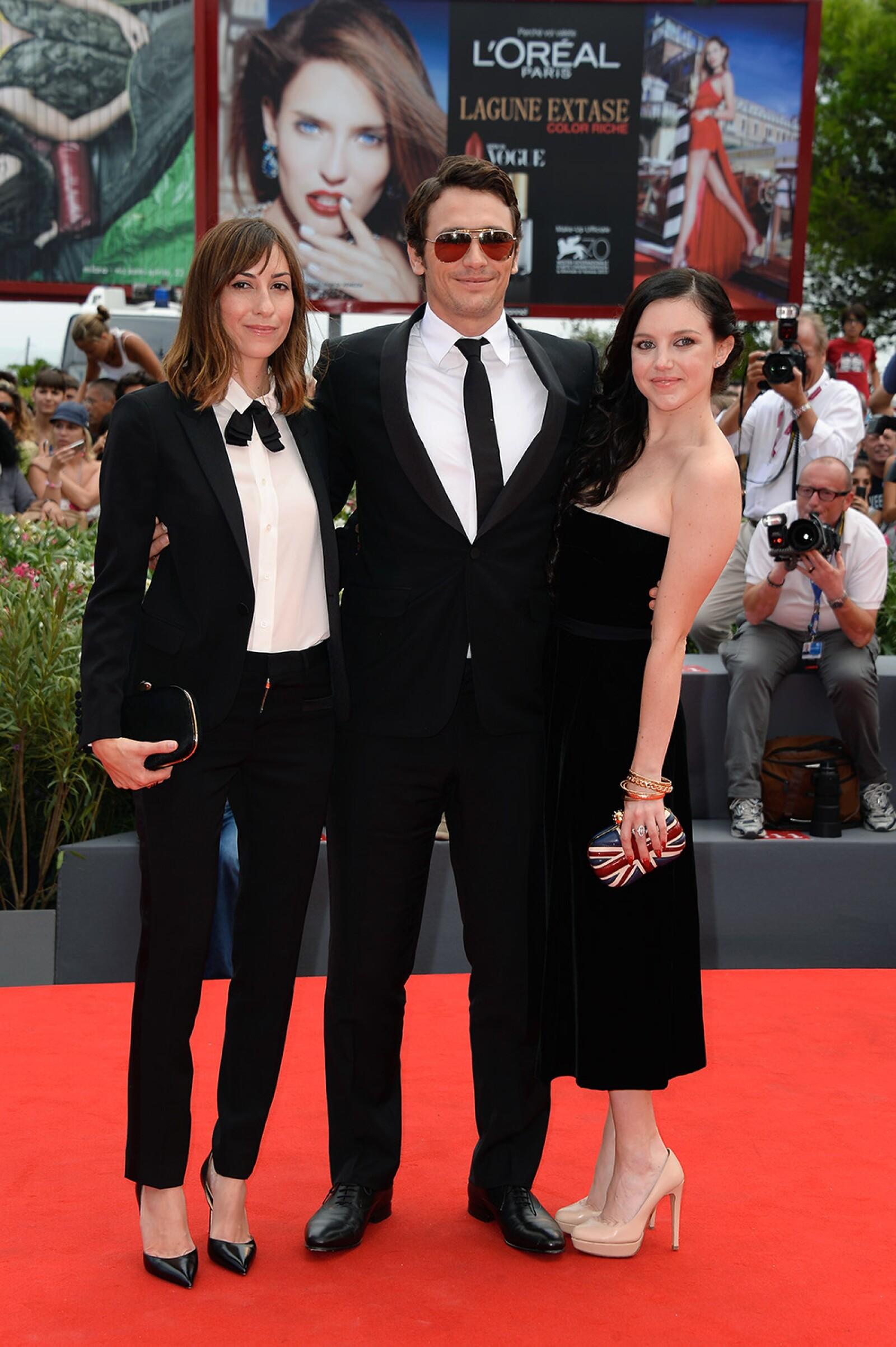 Gia Coppola, James Franco y Claudia Levy