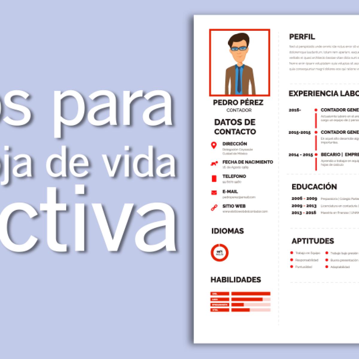 Elabora un CV que ayude a incrementar tu sueldo