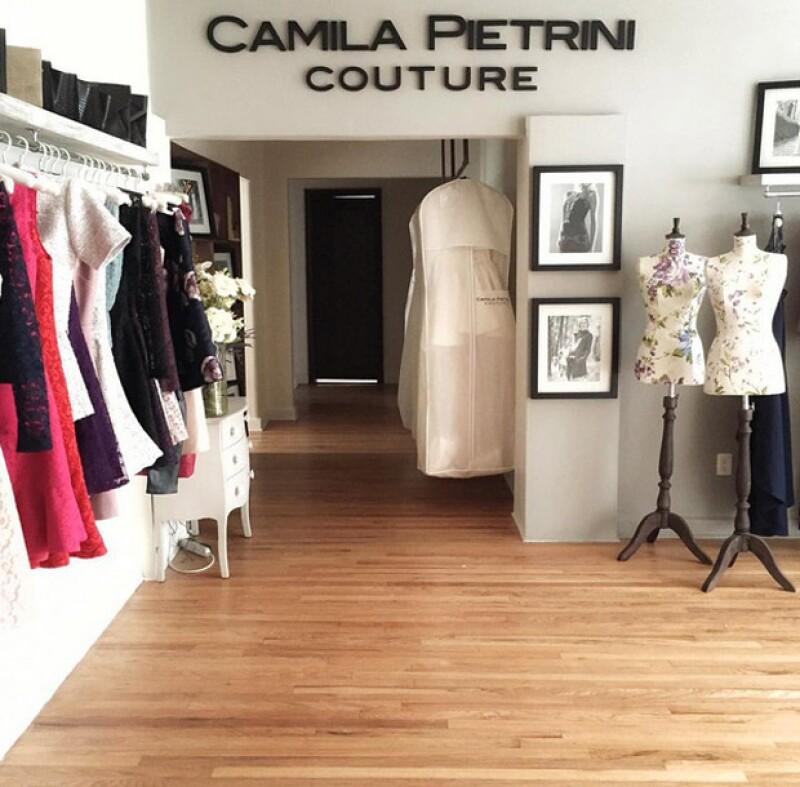 Taller Camila Pietrini Couture en Prado Norte.