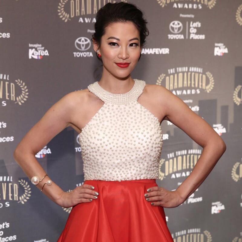 Arden Cho es norteamericana y actuó en la serie Teen Wolf de MTV.