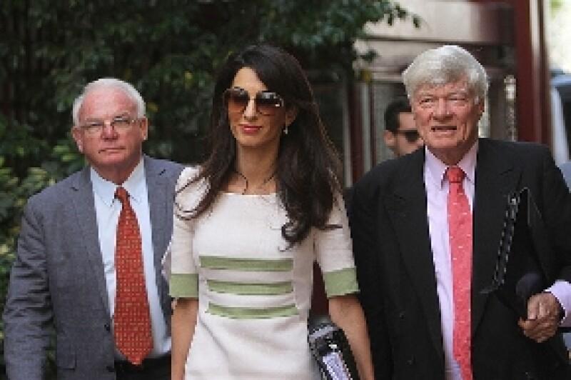 En el ranking, la esposa de George Clooney superó a Victoria Beckham e incluso a Malala Youzafzai, recién ganadora del Premio Nobel de la Paz.
