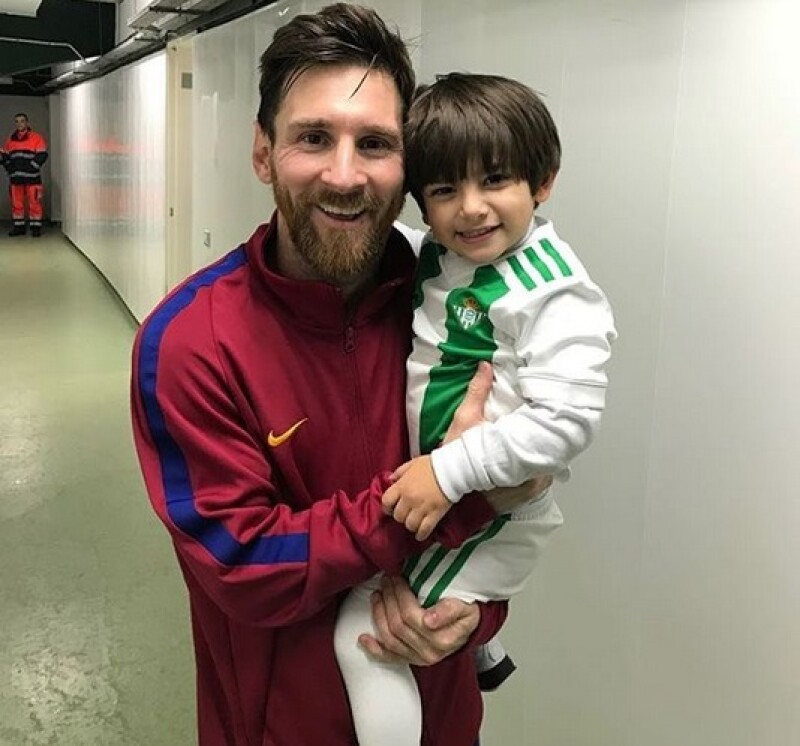 Messi, hijo guardado