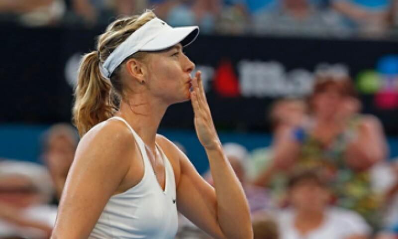 Maria Sharapova es una de las tenistas más rentables del mundo. (Foto: Reuters)