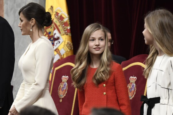 Spanish Royals Attend the 14th Legislative Sessions Opening