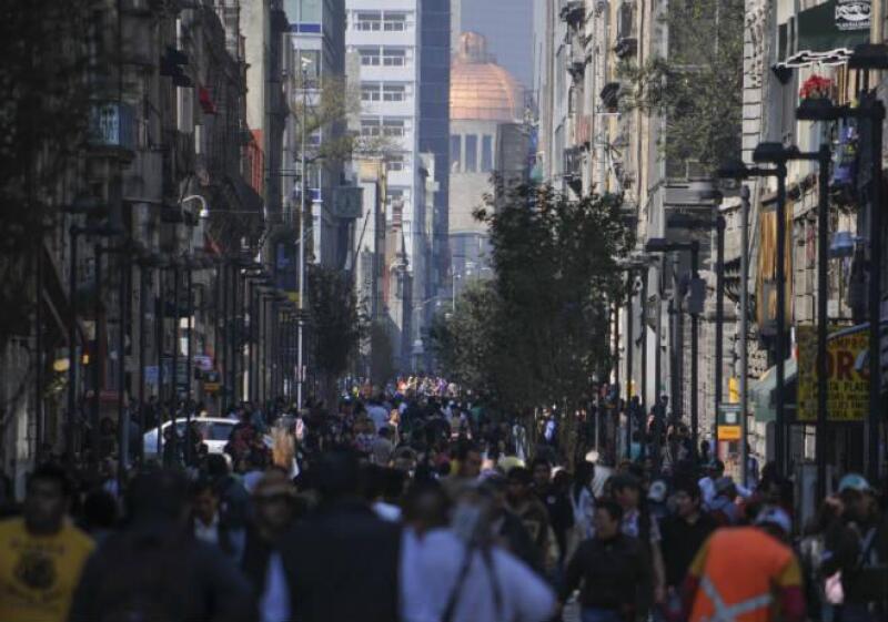 Calle Madero del Centro Hist�rico de la Ciudad de M�xico