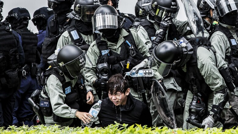 Las protestas continúan en Hong Kong