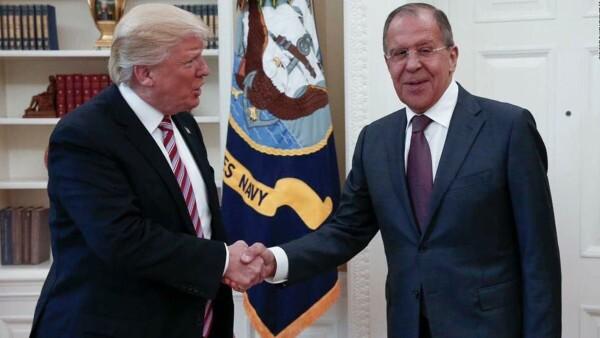 Fotógrafo ruso, único periodista en encuentro Trump-Lavrov