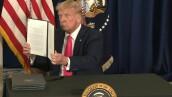 Trump anuncia un nuevo plan de ayuda para la economía de EU