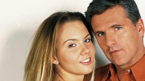 Michelle Vieth y Héctor Soberón se casaron en 2002.