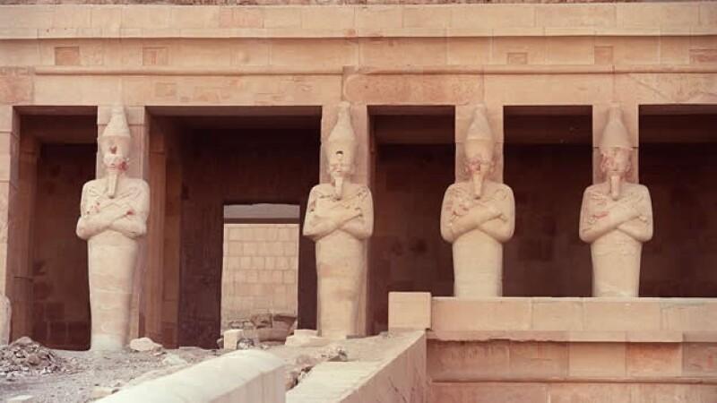 templo de Hatshepsut, en el valle de los reyes