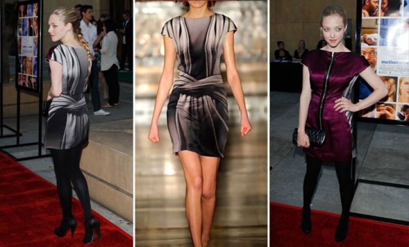 Utilizó el vestido para asistir a la premier de la película Mother and Child en 2010.
