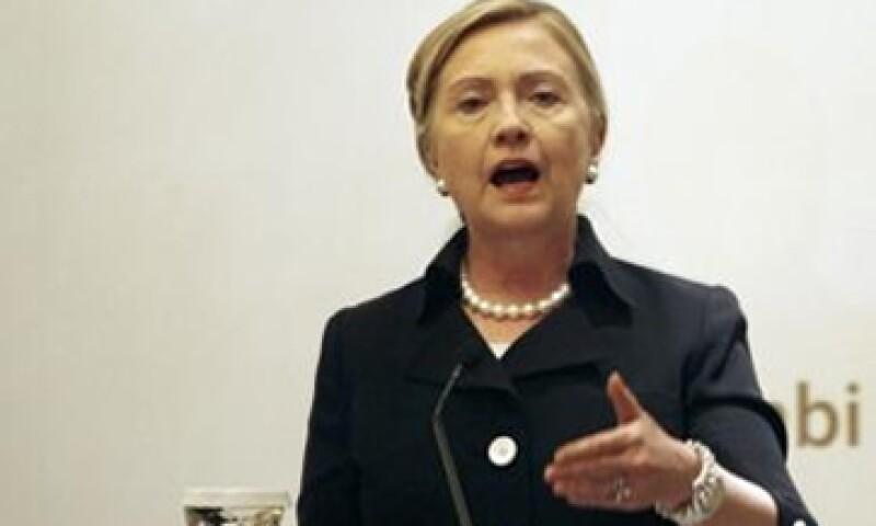 """""""Hillary Clinton quiere ese puesto"""", dijo una fuente a Reuters que conoce bien a la secretaria de Estado. (Foto: Reuters)"""