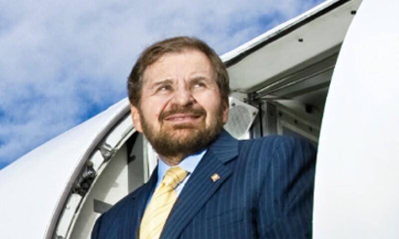 Alberto Abed, ex dueño de Taesa, controla desde Toluca la operación de FlyMex, la única empresa mexicana que sirve a la ONU. (Foto: Gilberto Contreras)