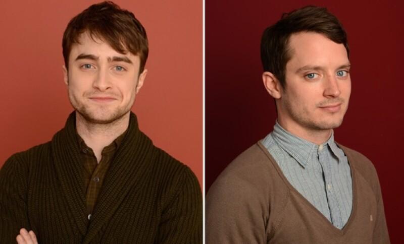 Daniel Radcliffe y Elijah Wood