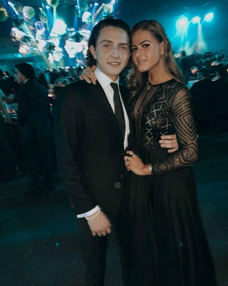 Nicole Peña y Alejandro Espinoza Rivera