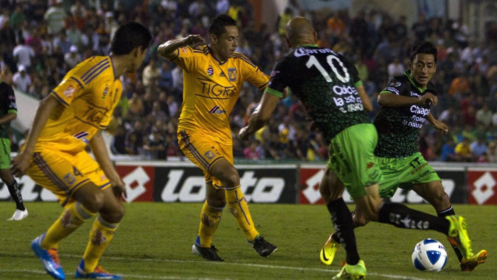 Jaguares y Tigres empataron 0-0 en duelos de felinos
