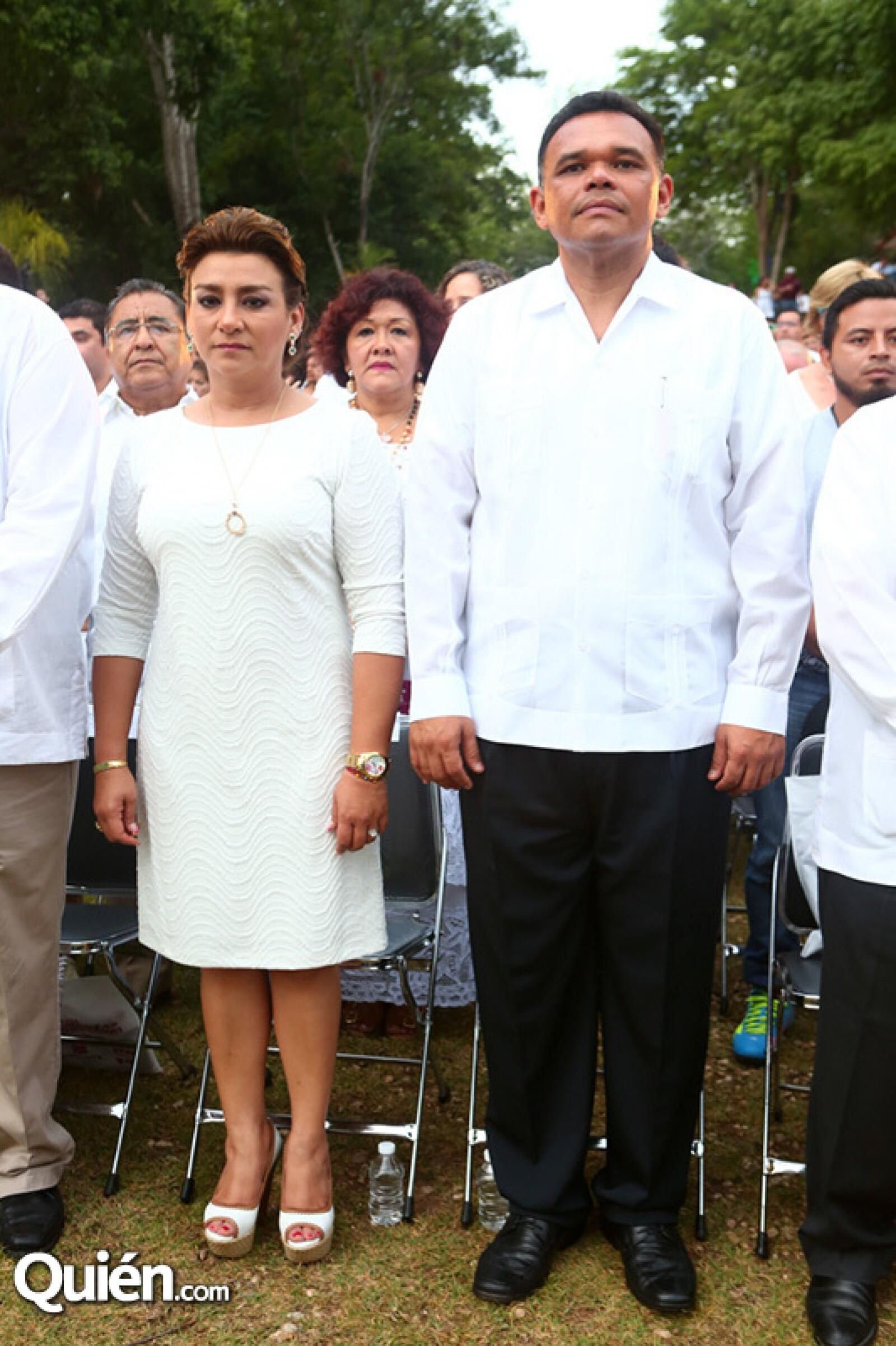 Sarita Blancarte y Rolando Zapata Bello