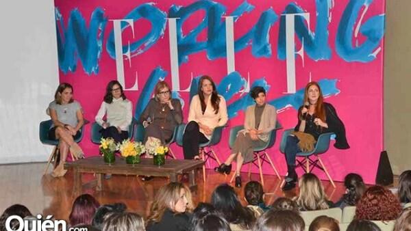 El panel de Editoras de Elle: Paulina Soto,Marimar García,Maripaz Ocejo,Michelle Griffing,Sandra Montiel y Paola Quintero.