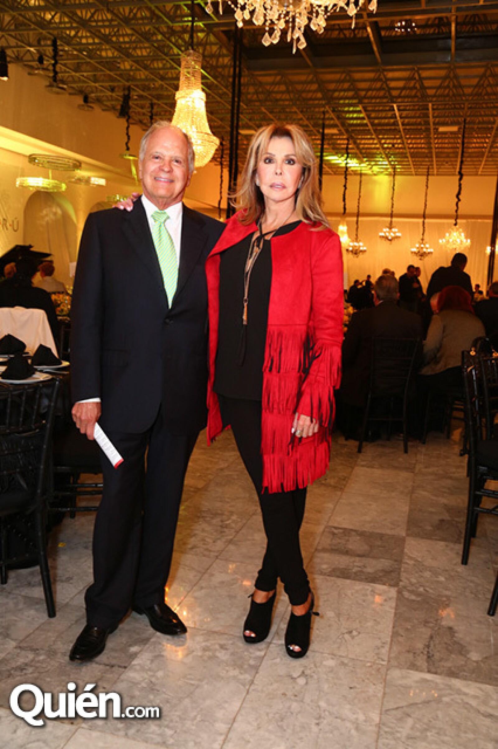 Guillermo y Chely Lerdo de Tejada