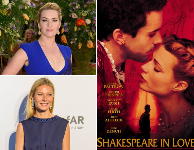 Kate Winslet rechazó el papel de Gwyneth Paltrow en Shakespeare in love