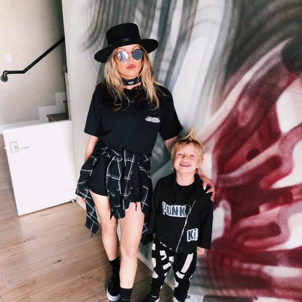 Fergie y su hijo