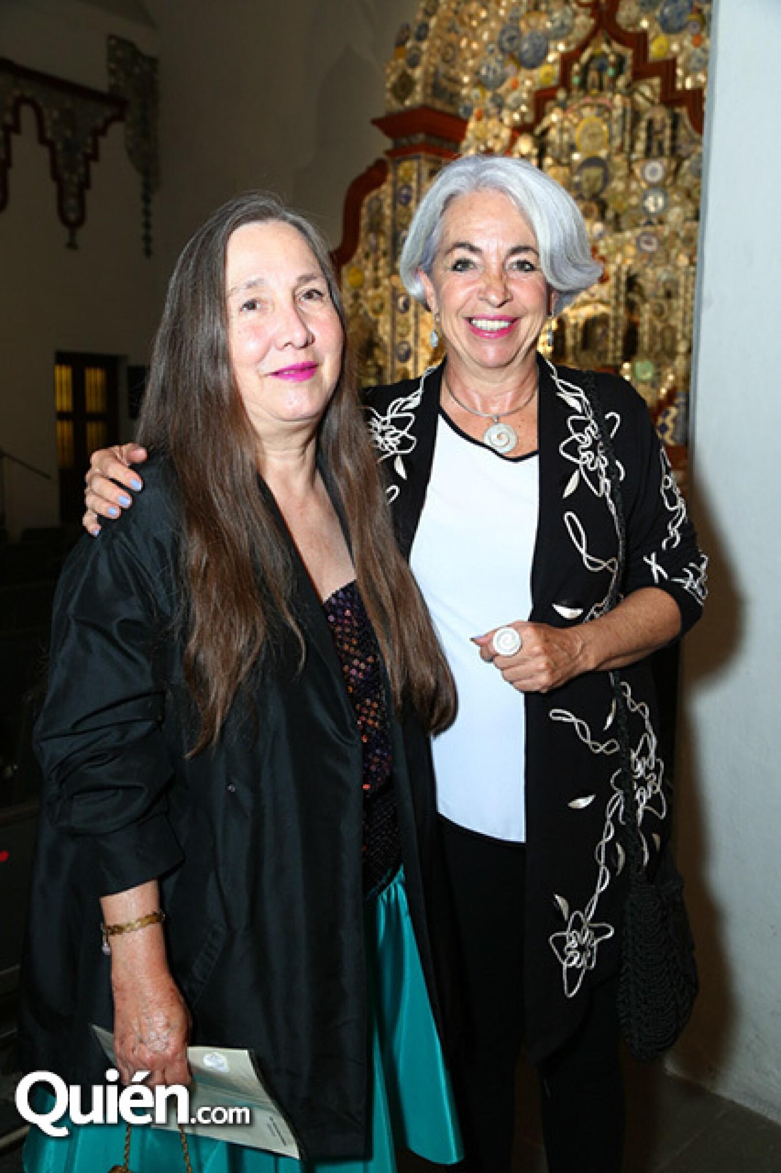 Tere Aznar y Tessy Massieu