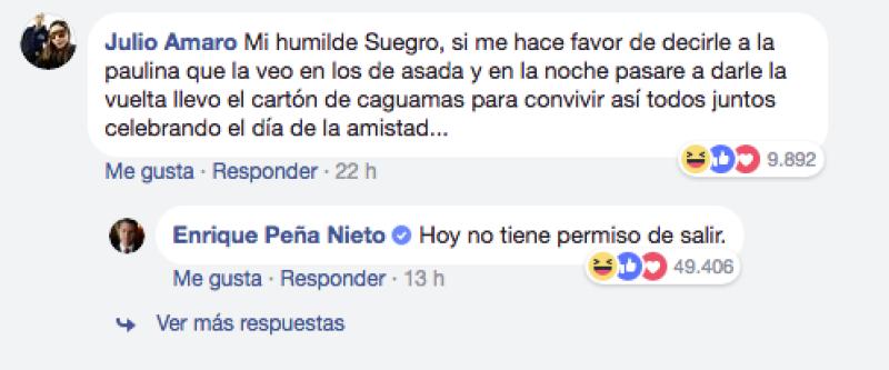 Peña nieto 5 facebook