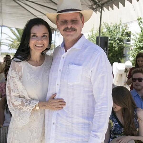 Monica y Luis Cetto
