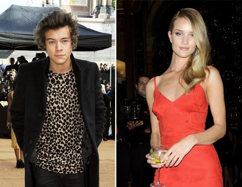 El cantante de One Direction aseguró que Rosie Huntington-Whiteley es la mujer más guapa del mundo.