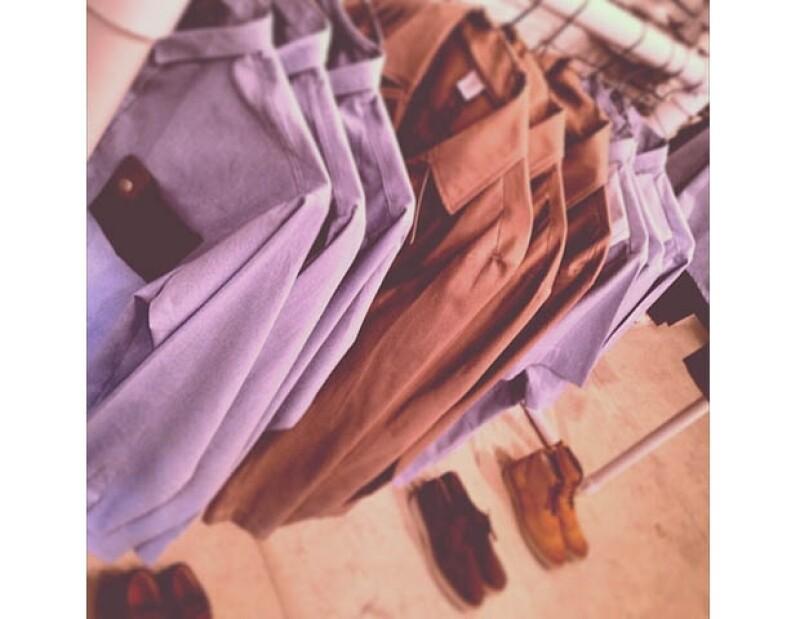 Algunas prendas de la colección 'White Label' de Ocho Store.