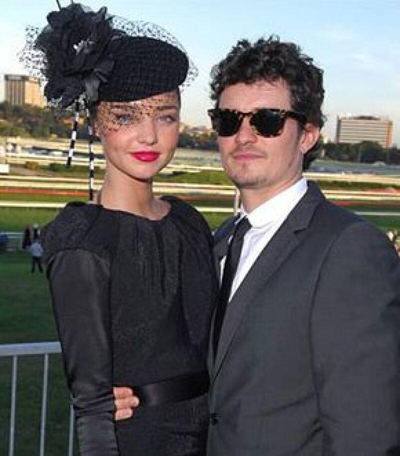 Dicen que el actor y su novia, la modelo Miranda Kerr, piensan casarse en un año.