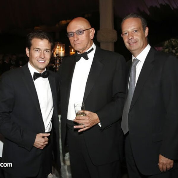 Eduardo Witchtendahl, Tony Chedraui y Polo Vázquez