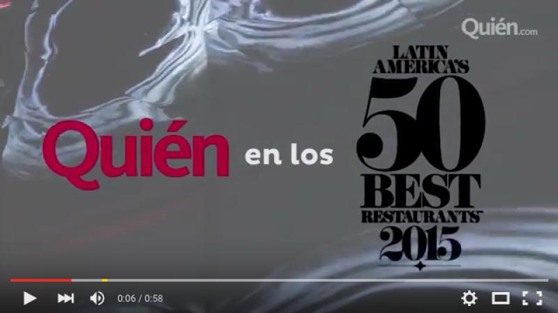 Personalidades cono Ana Brenda, Altair Jarabo, Alosian Vivancos y más se dieron cita para celebrar los mejores restaurantes a cuya lista perteneces varios mexicanos.