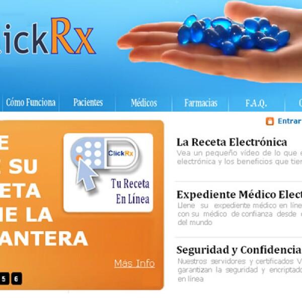 Con más de 2,000 médicos registrados y las principales farmacias del país, el sitio ClickRx de Milk Media da el servicio de receta electrónica y verificación de recetas.