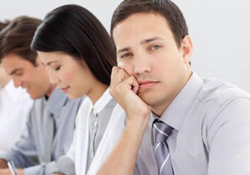El ausentismo y las enfermedades derivadas de la falta de motivación cuestan a las empresas en EU 250,000 mdd anuales. (Foto: Photos to go)