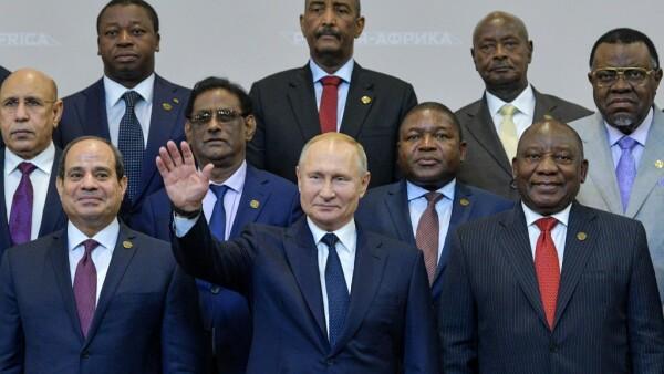 Cumbre de países africanos en Sochi, Rusia