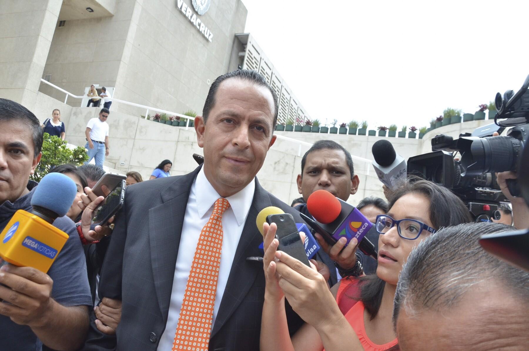 Exsecretario detenido