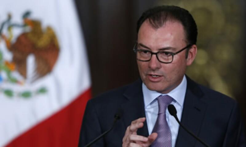 Videgaray asistió a la apertura de sesiones de la Bolsa londinense. (Foto: Reuters )