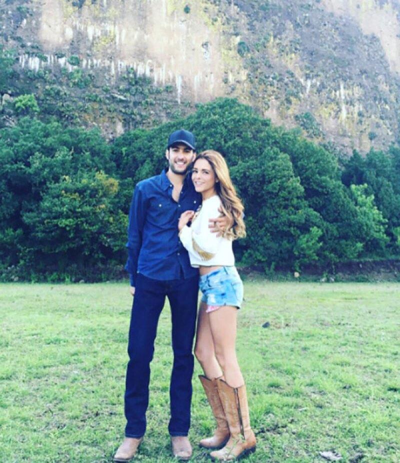Juan Pablo publicó esta foto asegurando que extraña a Grettell.